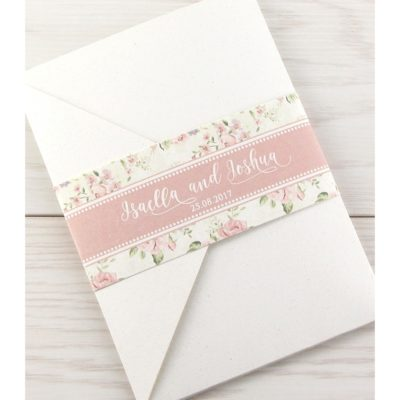 Clara Pocketfold Wedding Invitation