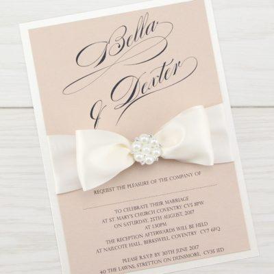 Serena Parcel Wedding Invitation