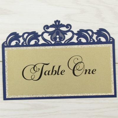 Farrah Glitter Table Name / Number