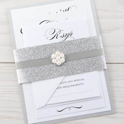 Oscar Parcel Wedding Invitation